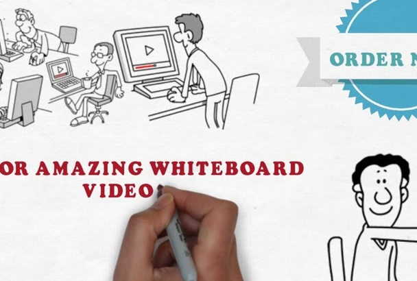 make WHITEBOARD animation for you