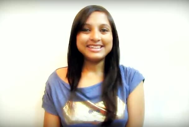 create a natural video testimonial in my super cool INDIAN accent