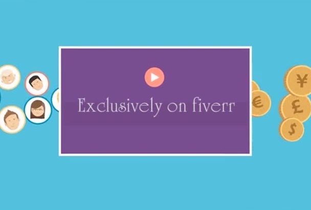 produced A Custom Animated EXPLAINER Video Commercial Today