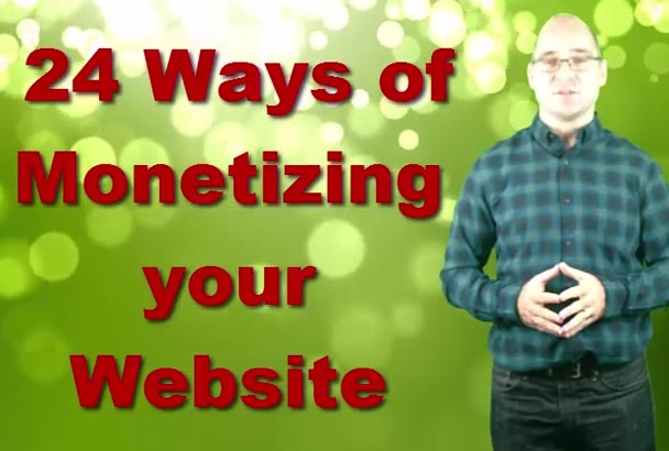 give you 24 ways to monetize your blog or website