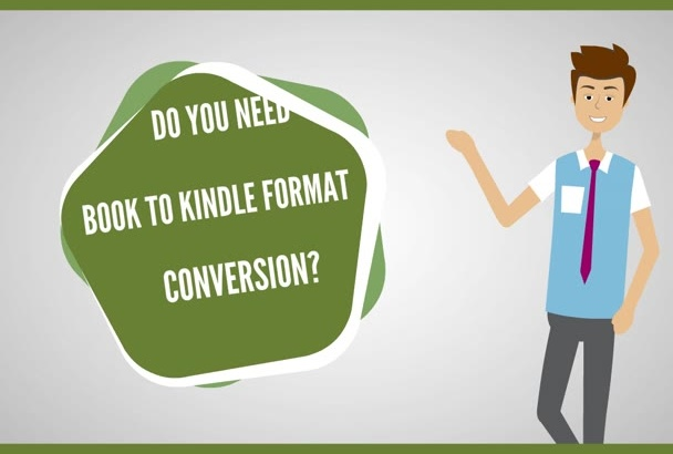 professionally format your book for KINDLE with free revisions