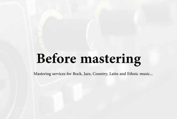 professionally mix your music
