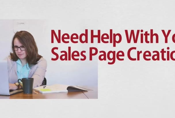 design A Landing Page Or Sales Page That Converts