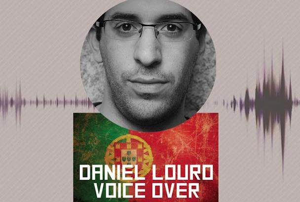 record male voice in portuguese