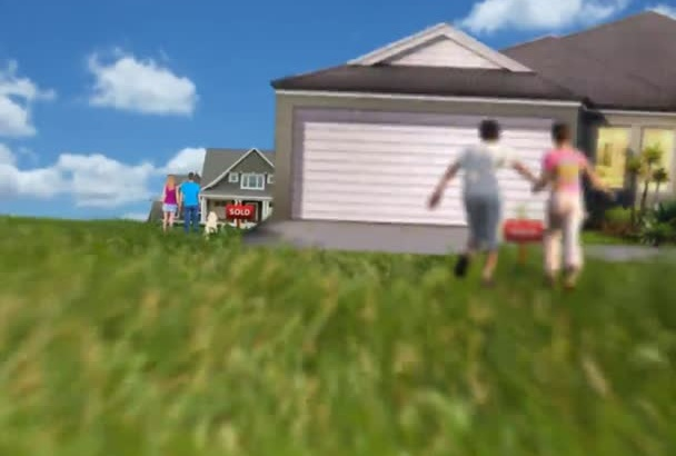 do a Realtor Real estate logo intro