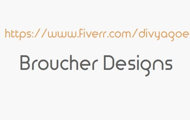 design a brouchers, flyers, posters