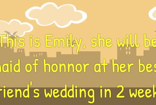 write the most memorable WEDDING speech or vows