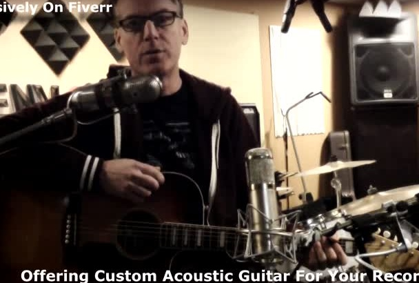 play acoustic guitar on your song