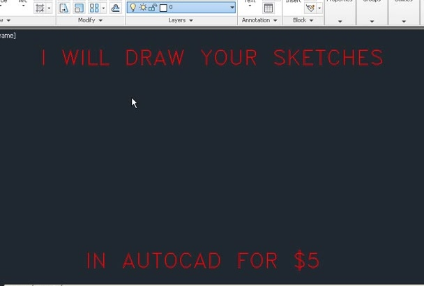 draw anything in autoCAD 2D and 3D
