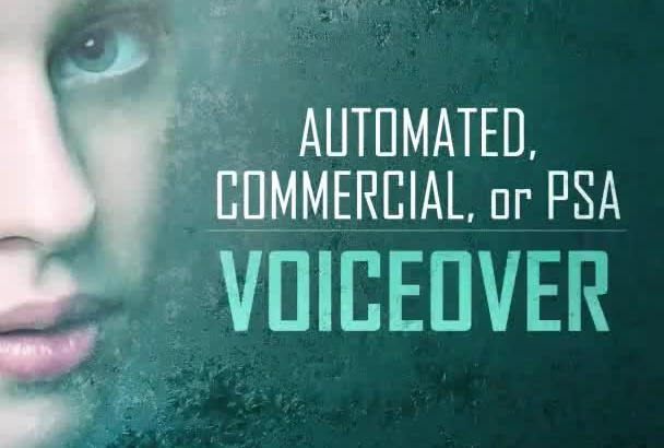 be your Siri inspired female voiceover artist