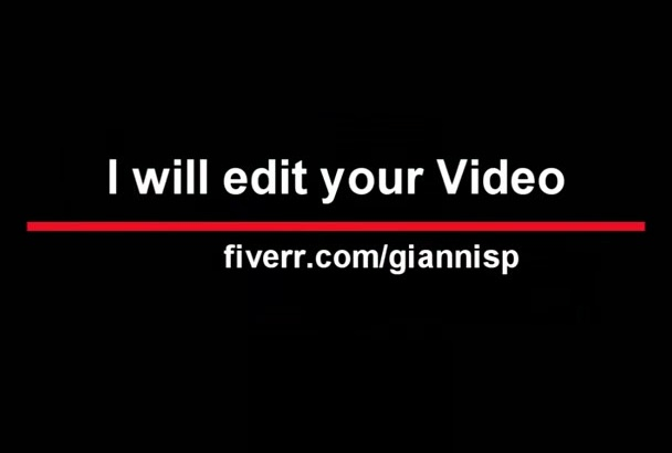 edit Professionally Any Type of Video
