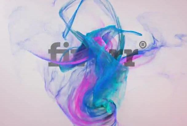 make stylish logo animation