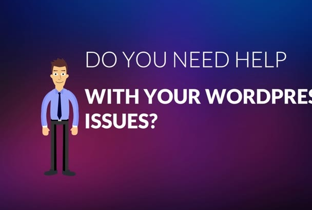 fix any CSS jQuery Php WordPress issue