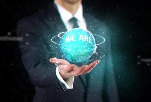 create this premium corporate WEBSITE commercial