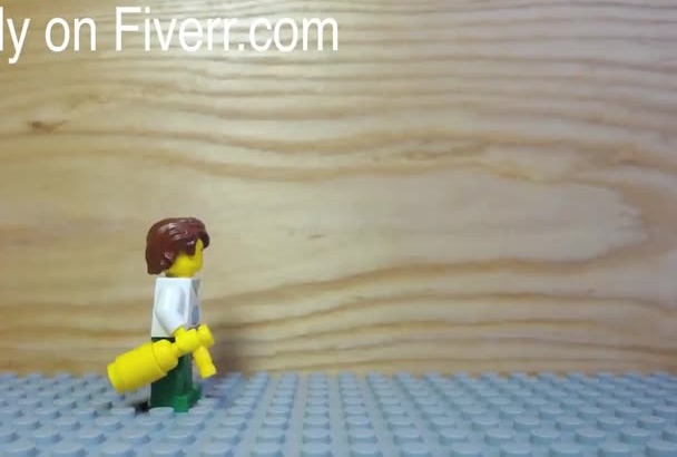 make you a Lego Stop Motion short with your Logo