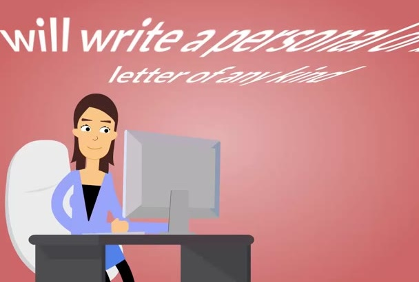 write a personal or business letter