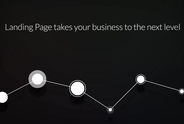 build a stunning and responsive squeeze page or landing page