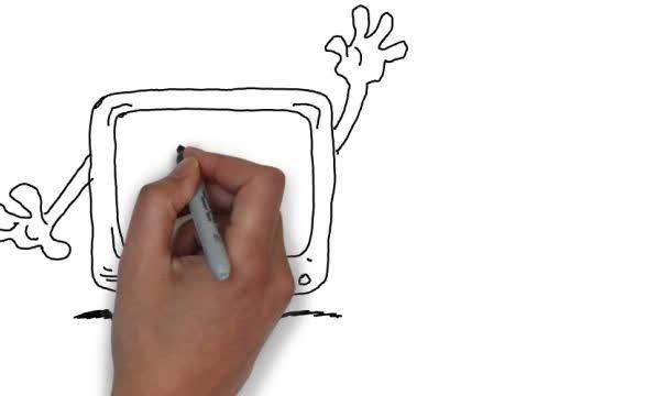 create an original whiteboard speed draw video