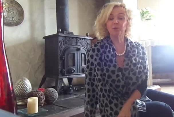 record a realistic video testimonial British accent