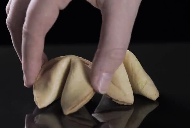 fortune Cookie message reveal