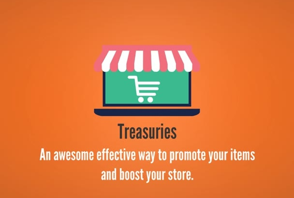 make 3 excellent treasuries with your Etsy store items