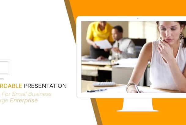 make Professional Video PRESENTATION