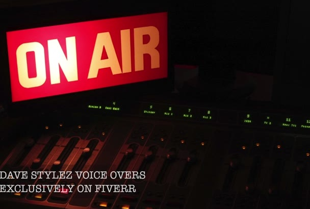 give you a radio tv imaging and promo voice over