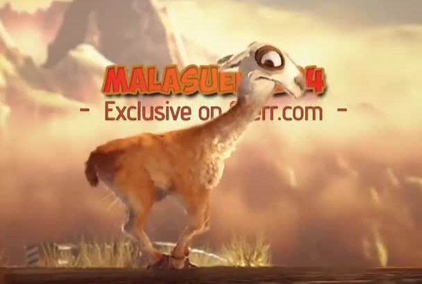 create a Funny Camel Intro with 3D animation