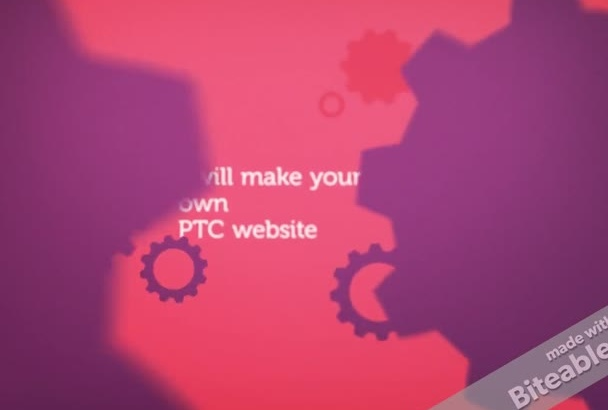 make your own ptc website