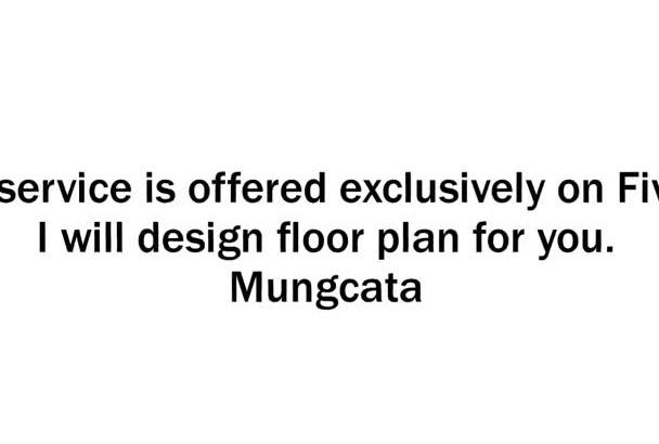 design a floor plan for you