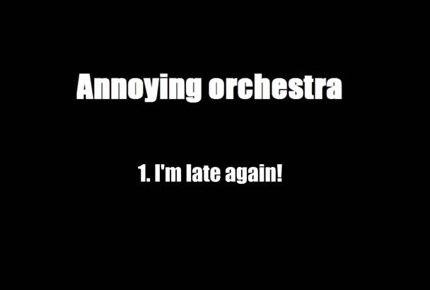 send you 5 annoying orchestra alarm ringtones