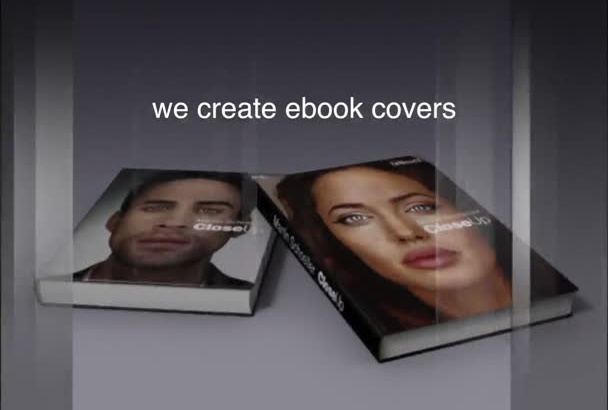 create a realistic 3D image of your ebook Cover