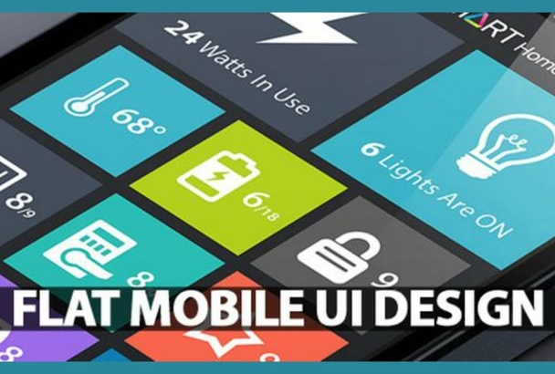 design the BEST  ios android windows mobile app ui mockup