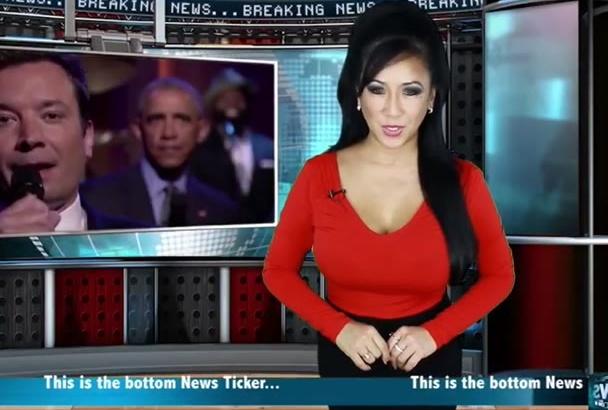 produce a Video Marketing News Spokesperson