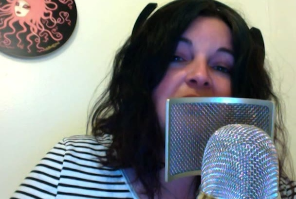 record a female sultry and husky voice over