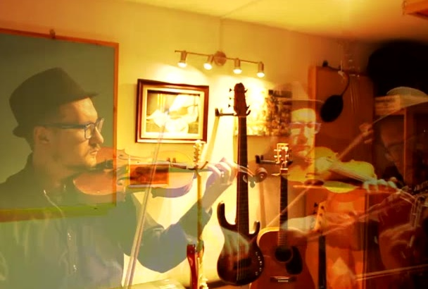 record strings section violin viola cello contrabass for your song