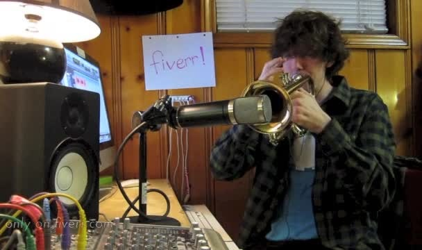 record anything on the trumpet