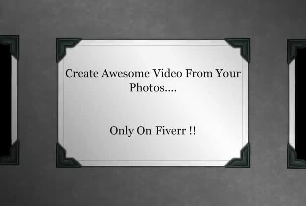 create PROFESSIONAL eye catching video from your photos