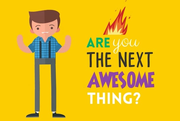 create an amazing video animation for hiring