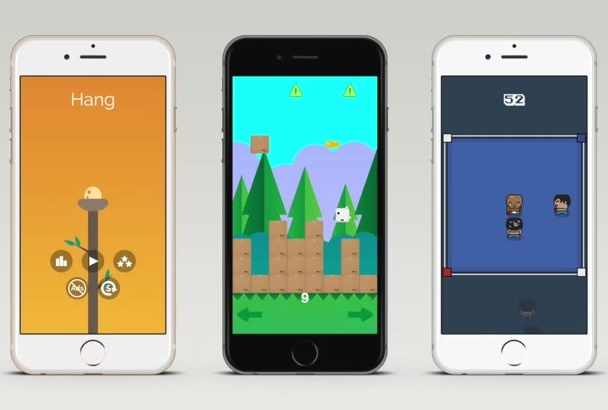 create an iPhone, iPad, Android game