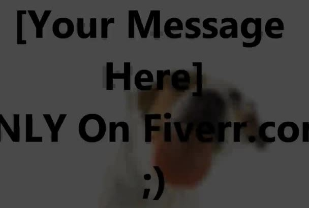 create A Dog Licking You Message