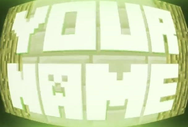 make an awesome Minecraft intro