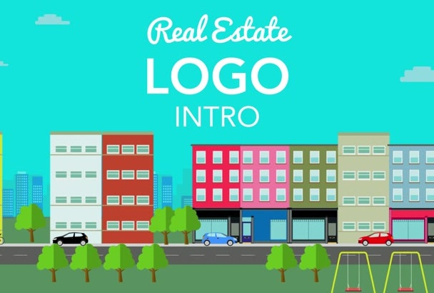 create this Real Estate Logo Video for your property service