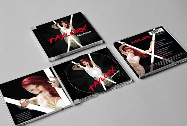 do CD Cover Design, Professional cd Cover Design