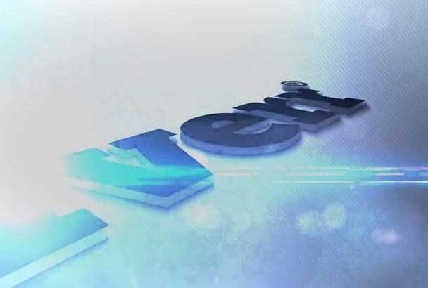 create AMAZING clean 3d logo intro in full hd