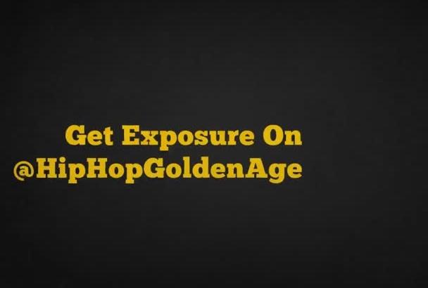 tweet your message to 265K Hip Hop followers