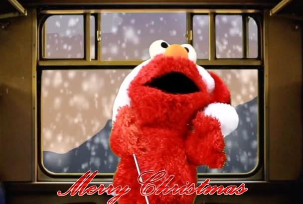 say your Elmo Christmas message