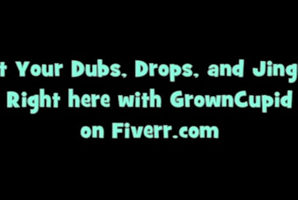 create excellent dj DROP, jingle or reggae dubplate for you
