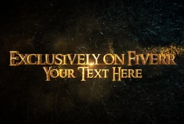 gold Trailer logo or text