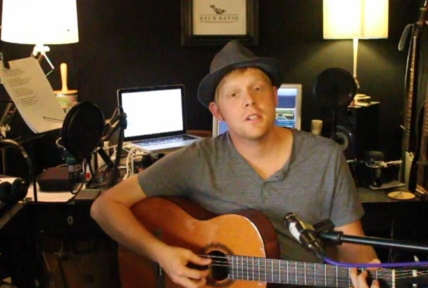 do an acoustic cover your bands or your solo song